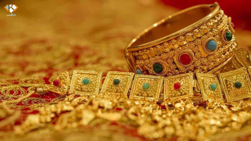 طراحی سایت طلا و جواهر