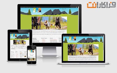 طراحی سایت مرتبط با حیوانات
