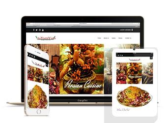 طراحی سایت رستوران، کافی شاپ و فست فود