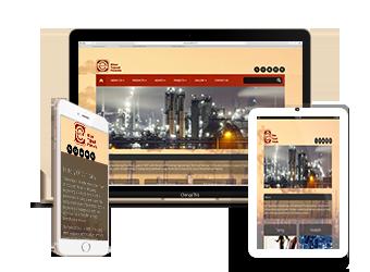 طراحی سایت صنعت نفت و گاز