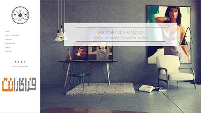 طراحی سایت گالری هنری
