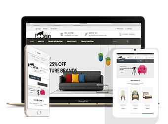 بسته طراحی سایت فروشگاه اینترنتی انتخابی