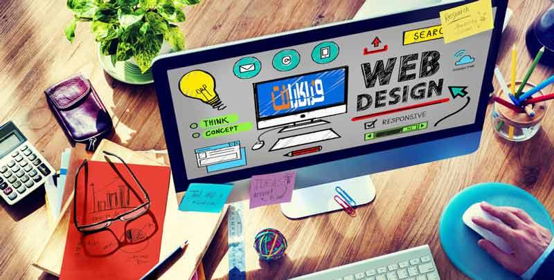 طراحی گرافیک اختصاصی و پیاده سازی صفحه سینگل