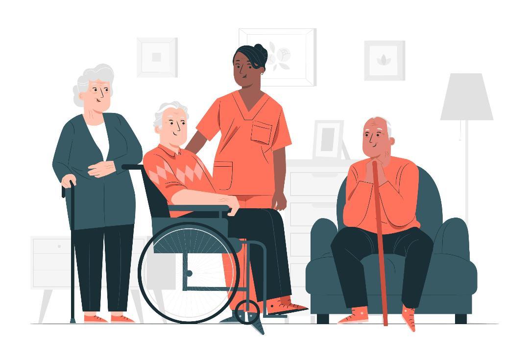 طراحی سایت سالمندان