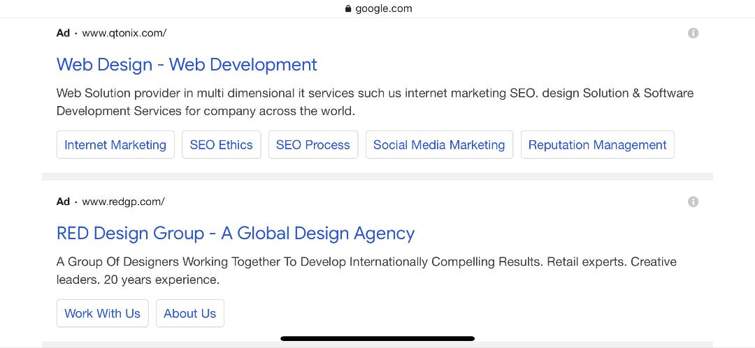 کمپین سرچ گوگل ادز